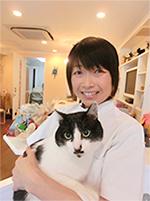 紺谷有子獣医師