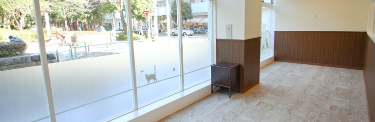 ペットホテル東京フィルウ 練馬区光が丘店 店内